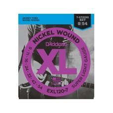 قیمت خرید فروش سیم گیتار Daddario EXL120-7