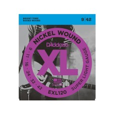 قیمت خرید فروش سیم گیتار Daddario EXL120