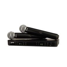 قیمت خرید فروش میکروفون بی سیم Shure BLX288/SM58