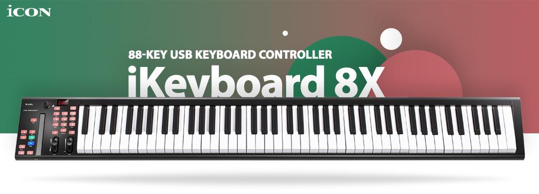 قیمت خرید فروش میدی کنترلر آیکن iKeyboard 8X