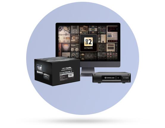 قیمت خرید فروش پردازنده سیگنال یونیورسال آدیو UAD2 Thunderbolt Quadcore